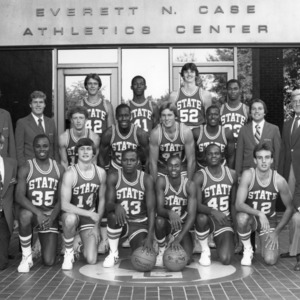 1979-1980 N.C. State University Wolfpack basketball team