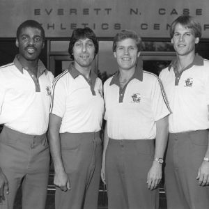 N.C. State University basketball coaches