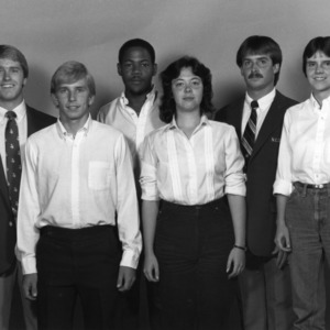 N. C. State 1983 basketball team managers
