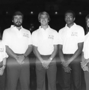 N.C. State University basketball team managers, 1983