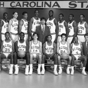 1984-1985 Wolfpack basketball team
