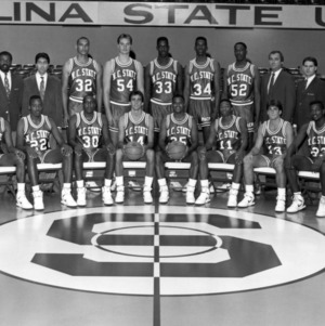 1987-1988 N.C. State University Wolfpack basketball team