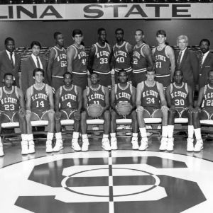 1986-1987 N.C. State University basketball team