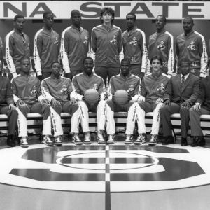 1985-1986 N.C. State University basketball team