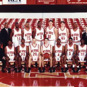 1996-1997 N.C. State University men's basketball team