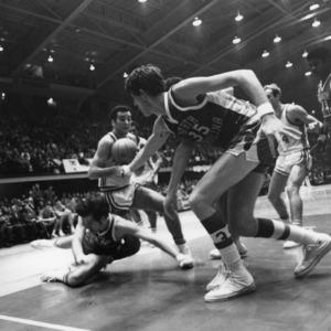 N.C. State vs. UNC-Chapel Hill, 1970