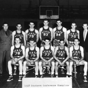 North Carolina State College  basketball team -- 1948 Southern Conference champions