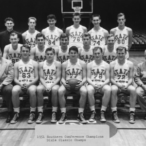 North Carolina State College basketball team, 1951 Southern Conference and Dixie Classic champions