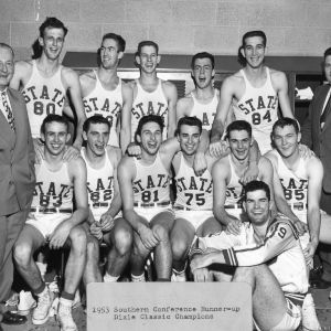North Carolina State College basketball team -- 1953 Southern Conference runner-up and Dixie Classic champions
