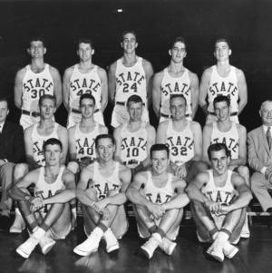 North Carolina State College basketball team, 1957