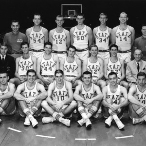 1963-1964 N.C. State varsity basketball team