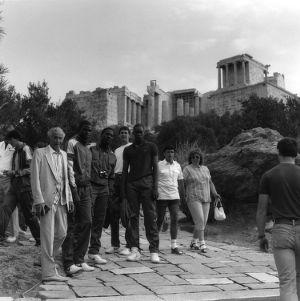 N.C. State basketball team in Greece, 1984