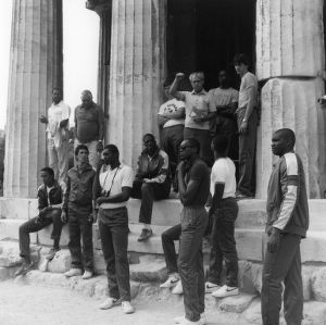N.C. State basketball team in Greece, 1984