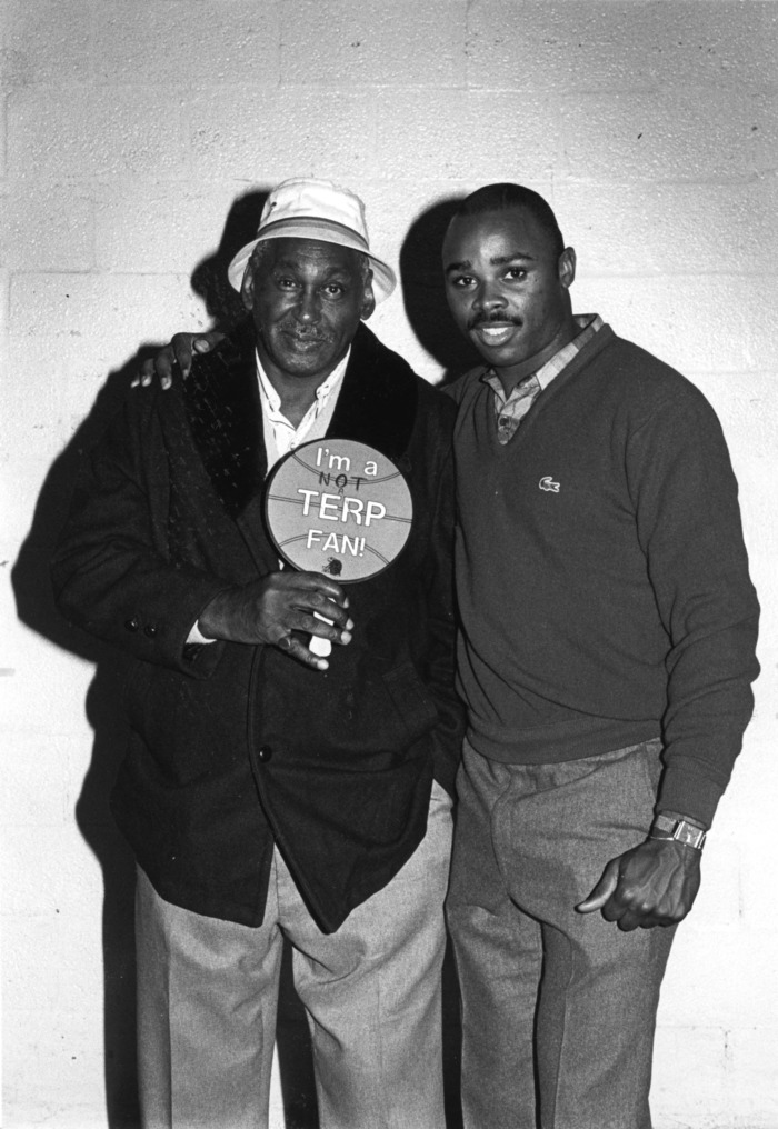 Sidney Lowe and father