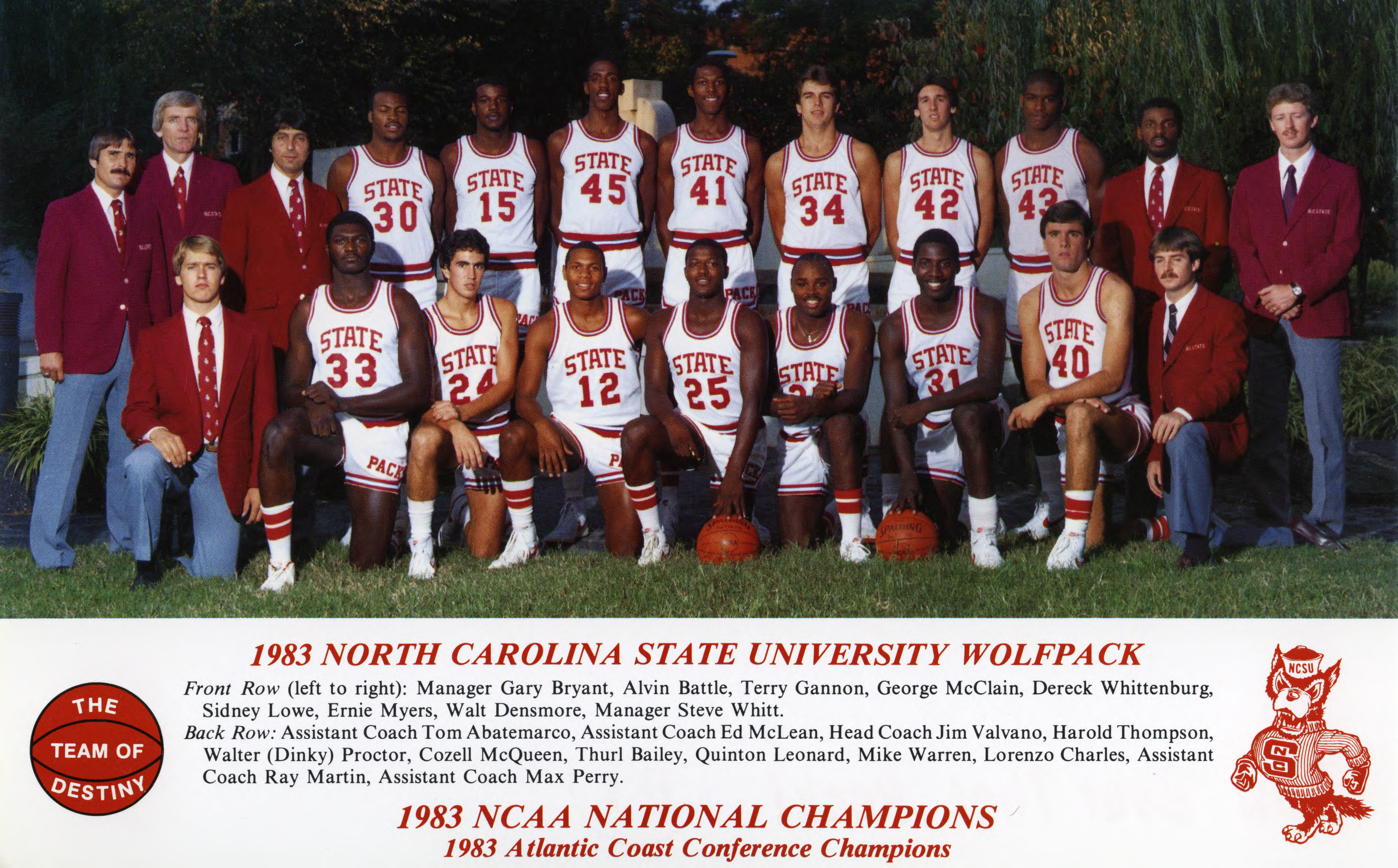 Thurl Bailey Wallpapers N C State University basketball team National Collegiate