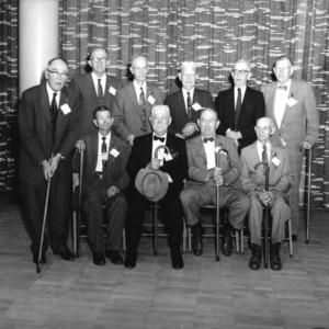 Members of class of 1903, Alumni Weekend, 1958.