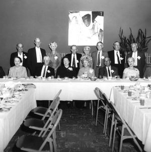 Class of 1910 at Alumni Weekend with William Clark Styron, Sr., on left, 1960.
