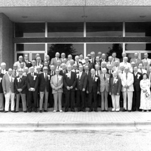 Class of 1930, golden anniversary class photograph, 1980