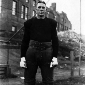 "N. C. State football player ""Dick"" Bostian"