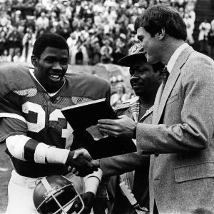 Honoring N. C. State football player Ted Brown on Ted Brown Day