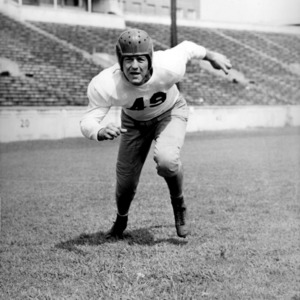 N. C. State football player Bert Dressler