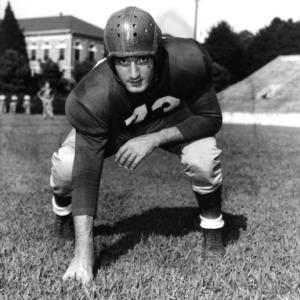 N. C. State football player Tony Gaeta