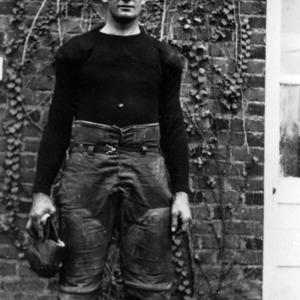 Football player Sammie L. Homewood portriat