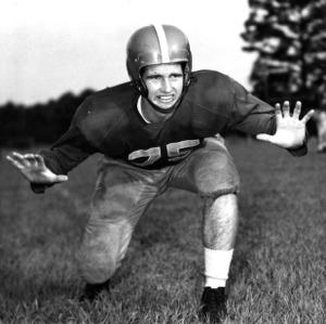 N. C. State football player Harold Jones