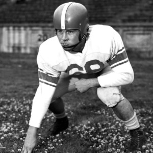 N. C. State football player Bill Kennedy