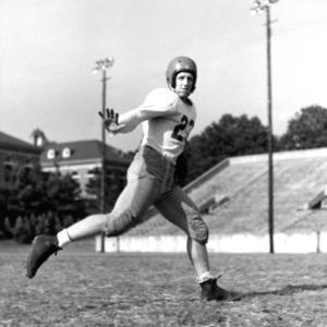 N. C. State football player Dick Kirmeyer