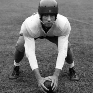 N. C. State football player Julius Malk