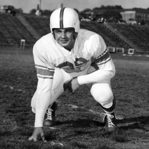 N. C. State football player Ed Mazgaj