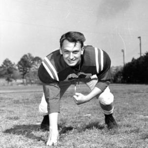 N. C. State football player John Monahan