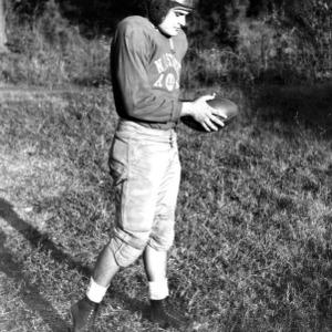 N. C. State football player Louis McLelland