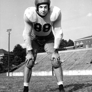 N. C. State football player Harry McLeod