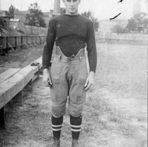 N. C. State football player Jim MacDougal