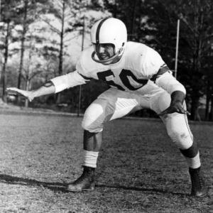 N. C. State football player Jim Oddo