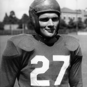N. C. State football player Bob Smith