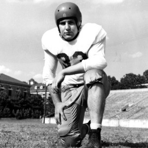N. C. State football player Jerry Turbyfill