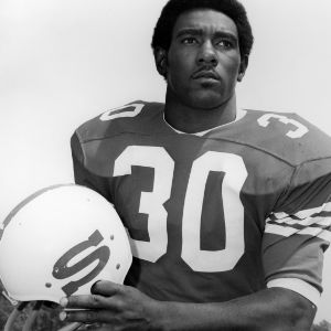 N. C. State football player Charley Young