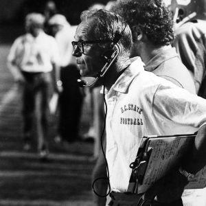 N. C. State football coach Al Michaels