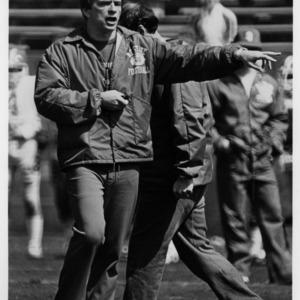 N. C. State football coach Tom Reed