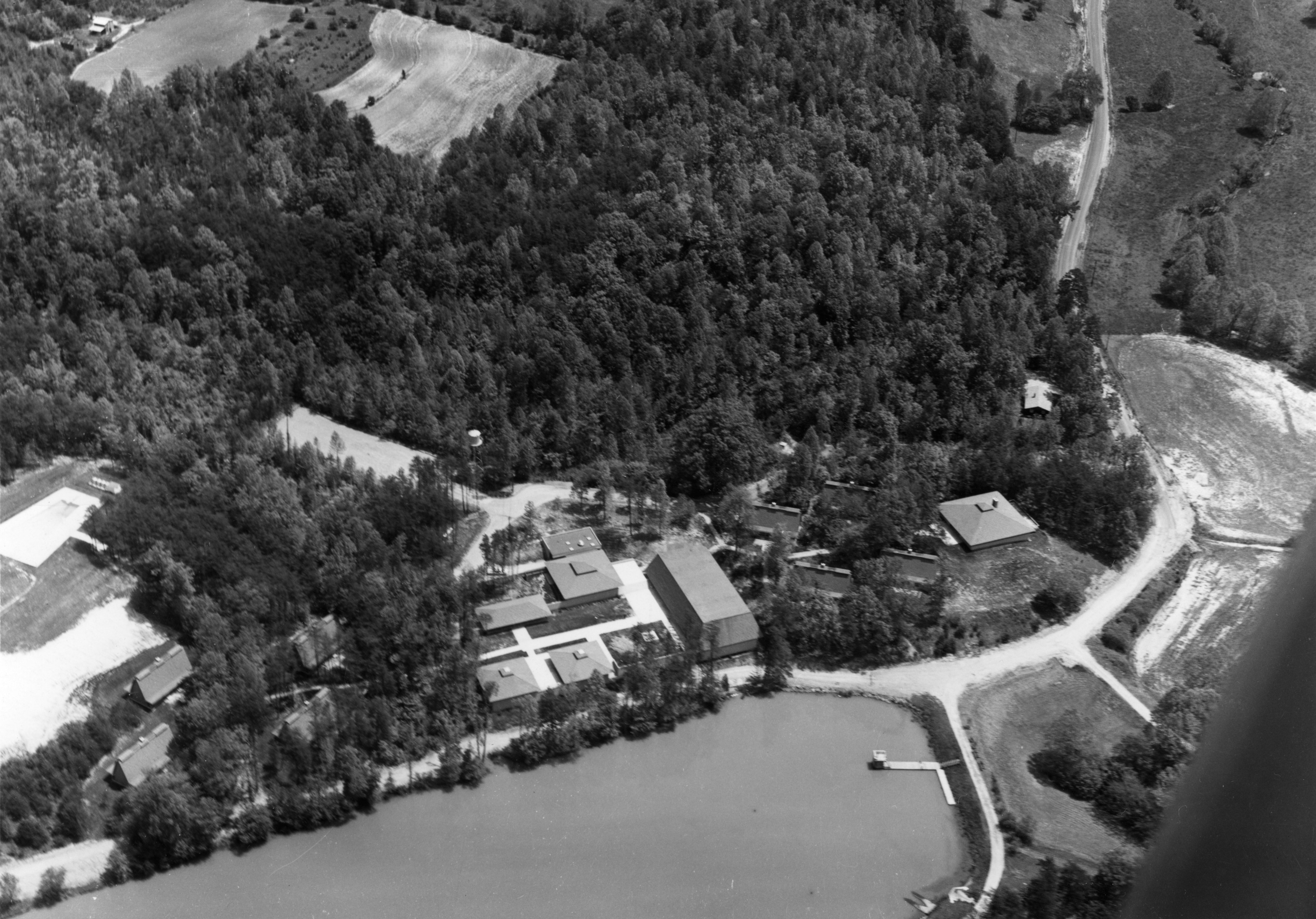 Aerial view of the Betsy-Jeff Penn 4-H Educational Center