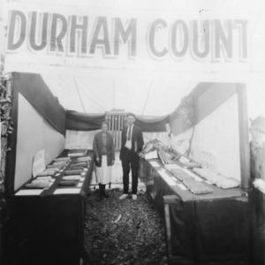 Durham County North Carolina State Fair display