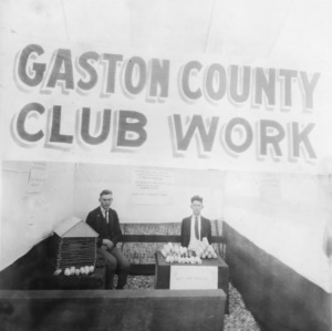Gaston County club work display at North Carolina State Fair