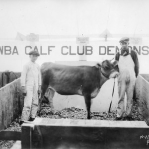Catawba calf club, North Carolina State Fair demonstration