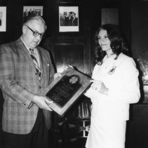 A 1971 alumni award winner from Asheville