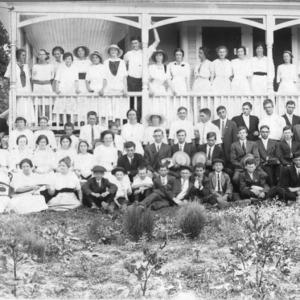 Annual Girls' and Boys' Club Picnic at Burlington, Alamance County, August 15, 1914