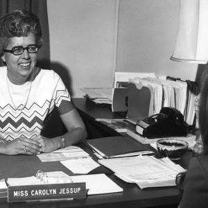 Carolyn Jessup in office