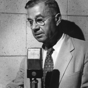 Frank H. Jeter at microphone